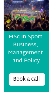 MSc in Sport Business, Management and Policy